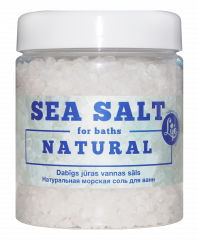 Image: Natural sea salt for baths