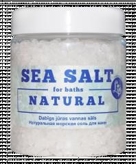 Attēls: Dabīgs jūras vannas sāls